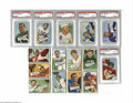 Football Cards:Sets, 1952 Bowman Small Football Complete First Series of 72. This is a complete run of the first series issue with cards #1-72 o...