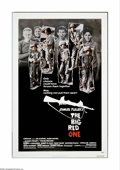 "Movie Posters:War, The Big Red One (Lorimar, 1980). One Sheet (27"" X 41""). SamuelFuller's story of the soldiers of the First Infantry who foug..."