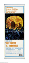 "Movie Posters:War, The Bridge At Remagen (United Artists, 1969). Insert (14"" X 36"").""We're not going to blow that bridge. We're going to take ..."