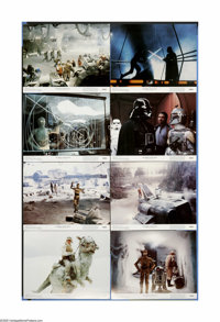 "The Empire Strikes Back (20th Century Fox, 1980). Lobby Card Set of 8 (11"" X 14""). ""Do...or do not. There..."