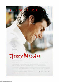 "Jerry Maguire (TriStar Pictures, 1996). One Sheet (27"" X 40""). ""Show me the money!"" ""You comple..."