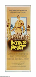 "Movie Posters:War, King Rat (Columbia, 1965). Insert (14"" X 36""). George Segal liesand cheats his way to the top of the food chain in a Japane..."