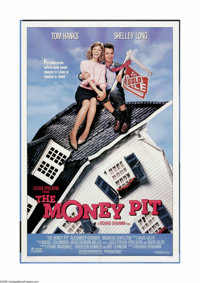 "The Money Pit (Universal, 1986). One Sheet (27"" X 41""). ""Here lies Walter Fielding. He bought a house, an..."
