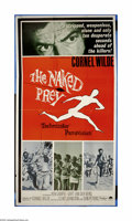 """Movie Posters:Adventure, The Naked Prey (Paramount, 1966). Three Sheet (41"""" X 81""""). CornellWilde is the only survivor of the massacre of an African ..."""