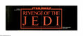 "Movie Posters:Science Fiction, Revenge of the Jedi (20th Century Fox, 1982). Press Supplement. The Luke Skywalker trilogy of the ""Star Wars"" series was sup..."