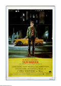 "Taxi Driver (Columbia, 1976). One Sheet (27"" X 41""). ""Thank God for the rain to wash the trash off the si..."