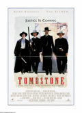 "Movie Posters:Western, Tombstone (Buena Vista, 1993). One Sheet (27"" X 40""). Kurt Russell stars in the story of the Earps and the Clantons and the ..."