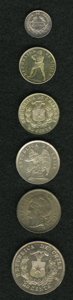 Chile, Chile: Republic Type Selection,... (Total: 6 coins)