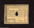 Colonial Notes:Massachusetts, Massachusetts May 5, 1780 $3 Choice About New. A faint center foldis found on this hole cancel example that has been stampe...