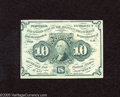 Fractional Currency:First Issue, Fr. 1242 10c First Issue Choice New. A crisp and colorful note with a lot to offer the type collector....