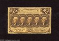 Fractional Currency:First Issue, Fr. 1279 25c First Issue Superb Gem Crisp Uncirculated. This issimply a spectacular example of this perforated first issue ...