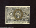 Fractional Currency:Second Issue, Fr. 1233 5c Second Issue Choice New. Three abundant margins are paired with a right-hand margin that runs down the frame lin...