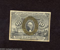 Fractional Currency:Second Issue, Fr. 1244 10c Second Issue Choice About New. A note that is simply lovely for the grade as the margins are huge and the cente...