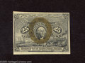 """Fractional Currency:Second Issue, Fr. 1286 25c Second Issue Choice Crisp Uncirculated. A very attractive example of this scarcer variety with """"S-18-63"""" surcha..."""