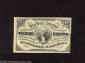 Fractional Currency:Third Issue, Fr. 1226 3c Third Issue New. A crisp and attractive light background note with a tight right margin and some light hinge rem...