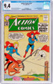 Action Comics #277 (DC, 1961) CGC NM 9.4 White pages