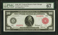 Large Size:Federal Reserve Notes, Fr. 1078b $100 1914 Red Seal Federal Reserve Note PMG Superb Gem Unc 67 EPQ.. ...