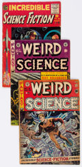 Golden Age (1938-1955):Miscellaneous, EC Science Fiction Comics Group of 12 (EC, 1950s) Condition: Average GD.... (Total: 12 Comic Books)