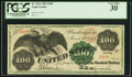 Large Size:Legal Tender Notes, Fr. 167a $100 1863 Legal Tender PCGS Very Fine 30.. ...