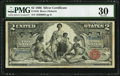 Large Size:Silver Certificates, Fr. 248 $2 1896 Silver Certificate PMG Very Fine 30.. ...