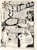 """Original Comic Art:Complete Story, Billy Graham Creepy #32 Complete 7-Page Story """"The 3:14 Is Right On Time"""" Original Art (Warren, 1970).... (Total: 7 Original Art)"""