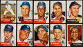 Baseball Cards:Sets, 1953 Topps Baseball Partial Set (154/274) With 15 High Numbers. ...