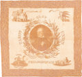 Political:Textile Display (pre-1896), Henry Clay: An Outstanding 1844 Campaign Cloth Bandana. ...