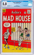 Silver Age (1956-1969):Humor, Archie's Madhouse #22 (Archie, 1962) CGC VG/FN 5.0 Off-white pages....