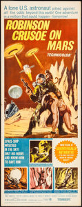 "Movie Posters:Science Fiction, Robinson Crusoe on Mars (Paramount, 1964). Insert (14"" X 36"").Science Fiction.. ..."