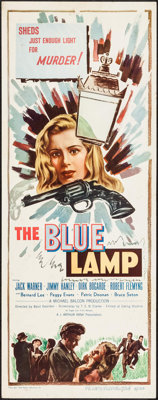 "The Blue Lamp (Eagle Lion, 1950). Insert (14"" X 36""). Crime"