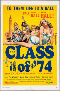 """The Class of '74 & Other Lot (General Film, 1972). Folded, Overall: Very Fine-. One Sheets (2) (27"""", 27.5""""..."""