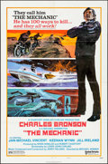 """Movie Posters:Action, The Mechanic & Other Lot (United Artists, 1972). One Sheets (2)(27"""" X 41"""") Style B. Action.. ... (Total: 2 Items)"""