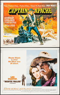 """Monte Walsh & Others Lot (National General, 1970). Half Sheets (4) (22"""" X 28""""). Western. ... (Total: 4..."""