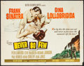 """Movie Posters:War, Never So Few & Others Lot (MGM, 1959). Half Sheets (3) (22"""" X28""""). War.. ... (Total: 3 Items)"""