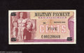 Military Payment Certificates:Series 692, Series 692 5¢ Replacement Extremely Fine. Light folds are detected in the center of this replacement....