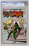Silver Age (1956-1969):War, G.I. Combat #100 (DC, 1963) CGC VF 8.0 Off-white pages....