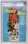 Silver Age (1956-1969):War, Our Army at War #136 (DC, 1963) CGC VF 8.0 Cream to off-white pages....