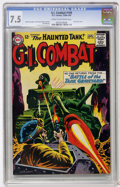 Silver Age (1956-1969):War, G.I. Combat #109 (DC, 1964) CGC VF- 7.5 Cream to off-white pages....