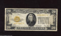 Small Size:Gold Certificates, Fr. 2402* $20 1928 Gold Star Certificate. Very Good-Fine. This is an elusive note in any condition with this being just our...