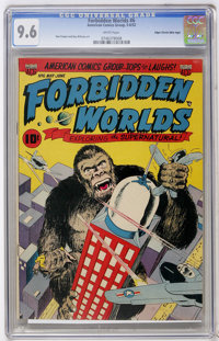 Forbidden Worlds #6 Mile High pedigree (ACG, 1952) CGC NM+ 9.6 White pages