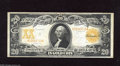 Large Size:Gold Certificates, Fr. 1186 $20 1906 Gold Certificate Very Fine-Extremely Fine. This is an attractive lightly circulated $20 Gold with its deep...