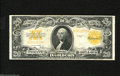 Large Size:Gold Certificates, Fr. 1187 $20 1922 Gold Certificate Very Fine. Sound edges and a dark orange back are found on this crispy $20....
