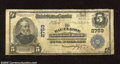 National Bank Notes:Wisconsin, Eau Claire, WI - $5 1902 Plain Back Fr. 598 The Eau Claire NB Ch. # 2759 The stamped signatures of J.A. Playter and T.B...