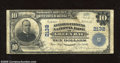 National Bank Notes:Wisconsin, Green Bay, WI - $10 1902 Plain Back Fr. 631 Kellogg-Citizens NB Ch. # 2132 This $10 has nice signatures. This is one o...