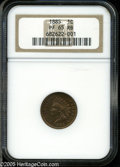 Proof Indian Cents: , 1885 1C PR 65 Red and Brown NGC. ...