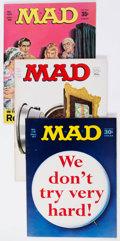 Magazines:Mad, MAD Group of 18 (EC, 1967-72) Condition: Average VF+.... (Total: 18Comic Books)