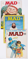 Magazines:Mad, MAD Group of 62 (EC, 1960s-70s) Condition: Average VG/FN....(Total: 62 Comic Books)