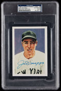 Autographs:Sports Cards, Signed 1985 Ultimate Baseball Joe DiMaggio #9 PSA/DNA Authentic....