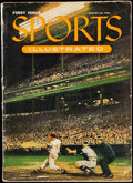 Baseball Collectibles:Publications, 1954 Sports Illustrated First Issue. . ...