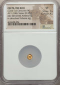 Ancients:Celtic, Ancients: CENTRAL EUROPE. Boii. 2nd-1st century BC. AV 1/24 stateror myshemihecte (0.33 gm). NGC VF 3/5 - 4/5....